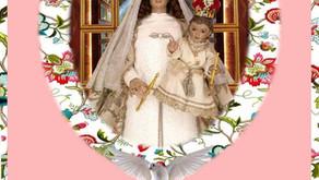 Visitación de la parroquia de Santa Beatriz a la Virgen María!!!
