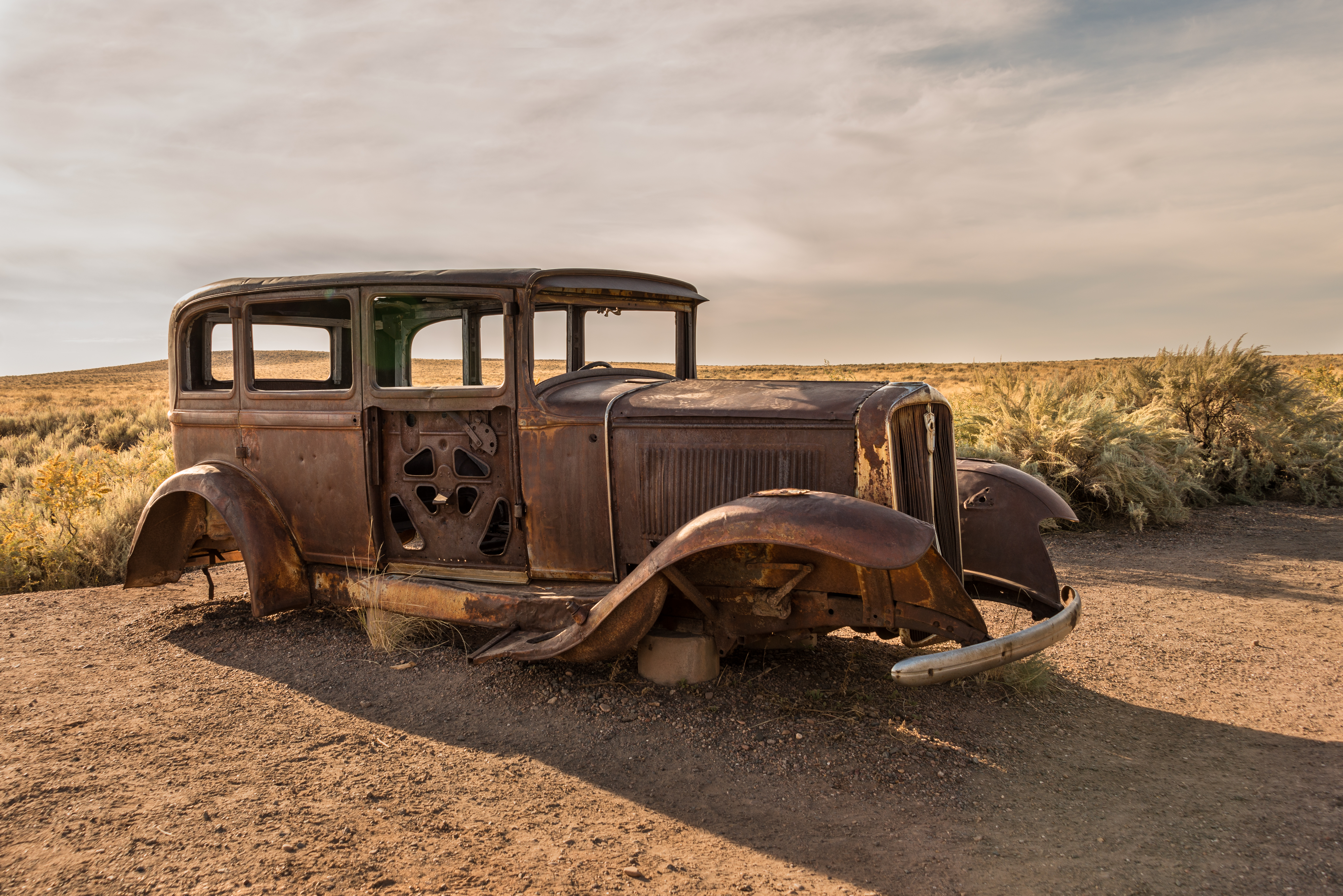 Abandoned on Route 66