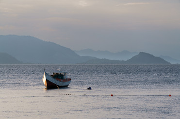 Eastern Borneo Coastal Scene