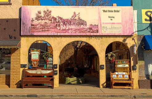 Roadside attraction in Winslow AZ