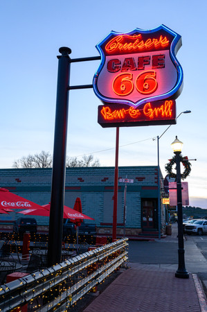Rote 66 Neon Signs