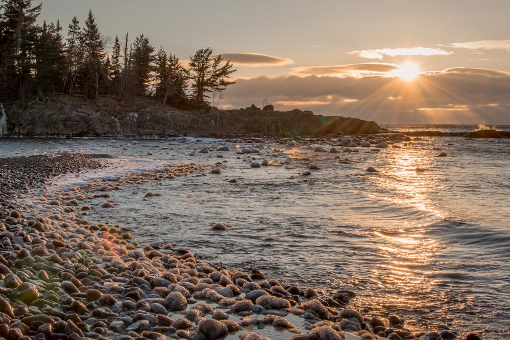 Ellingson Island Sunrise