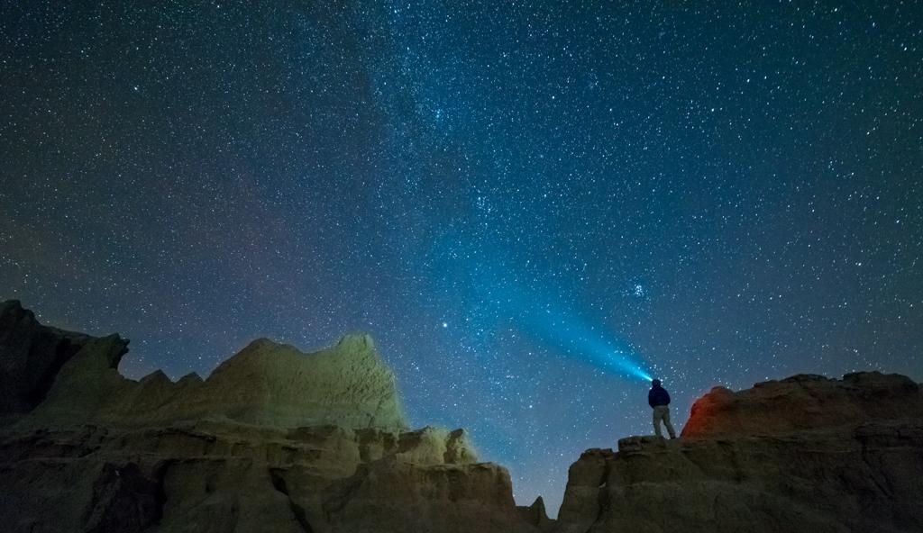 Stars over the Badlands
