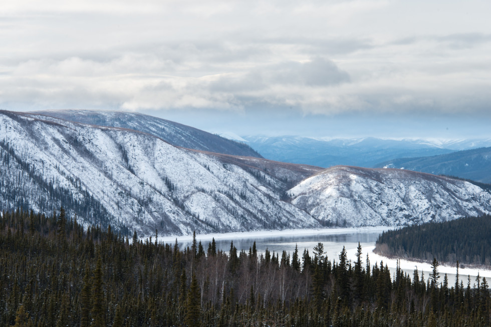 Winter View from Dalton Highway