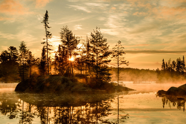 Fenske Lake Sunrise