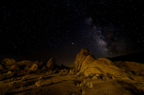 Milky Way at Alabama Hills