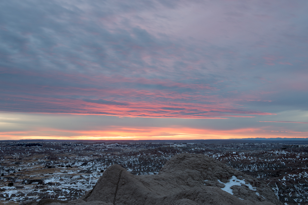 Badlands Sunset - Tiny-1