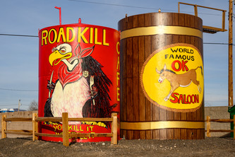 Road Kill Cafe and O.K. Saloon