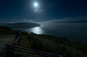 Klamath Overlook under a Full Moon