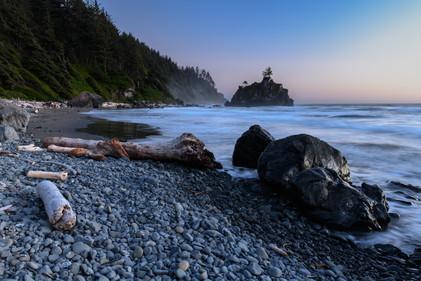 Hidden Beach during the Blue Hour
