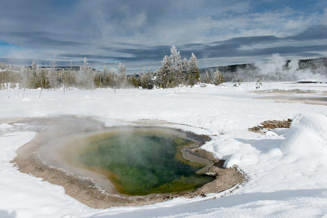 Thermal Pool in Yellowstone