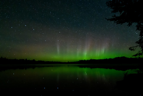 Northern Lights in Ely