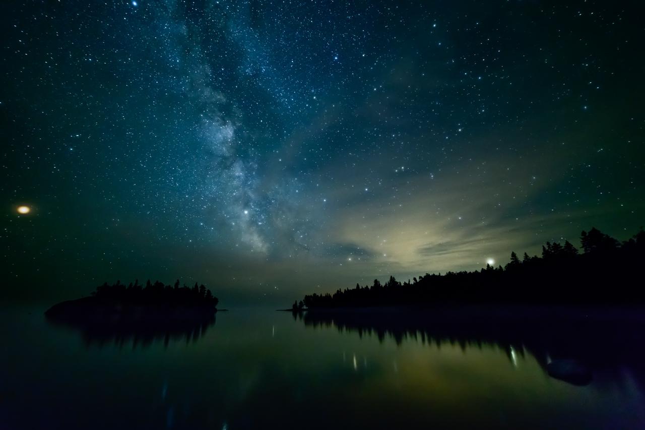 Milky Way at Ellingson Island