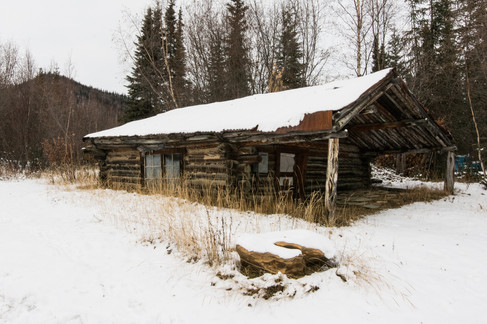 Old Cabin near Cold Foot AK