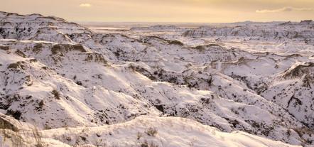 Winter in the Badlands