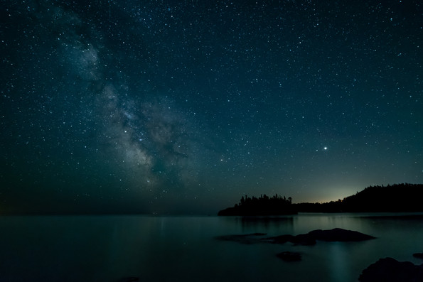 Milkyway over Lake Superior