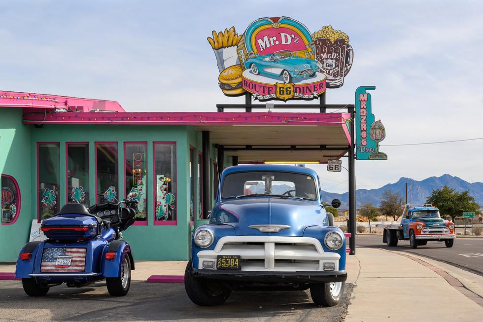 Mr. D's Diner in Kingman AZ