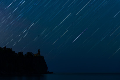 Split Rock Star Trails
