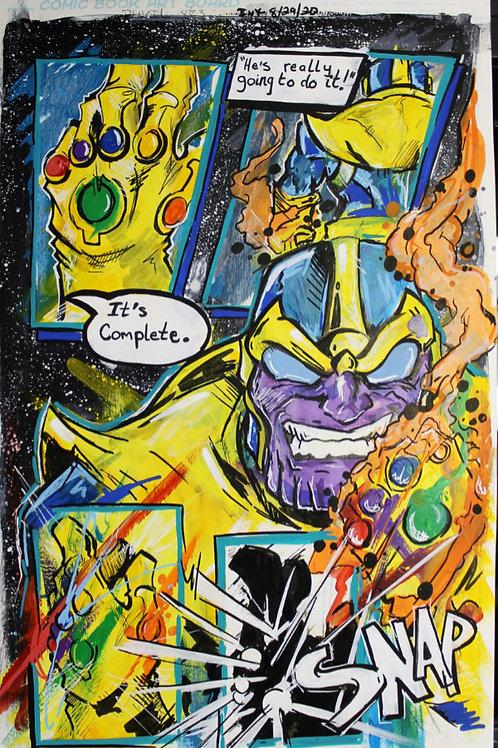 Original Comic Page Art