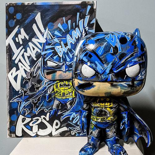 """18"""" Batman Custom Funko"""