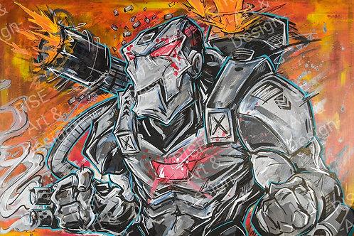 War Machine ROX - original painting