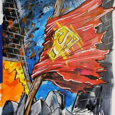 Death of Superman (cape)