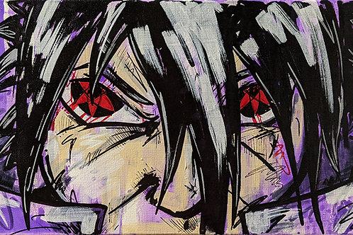 Sasuke Uchiha - Bleeding Eye