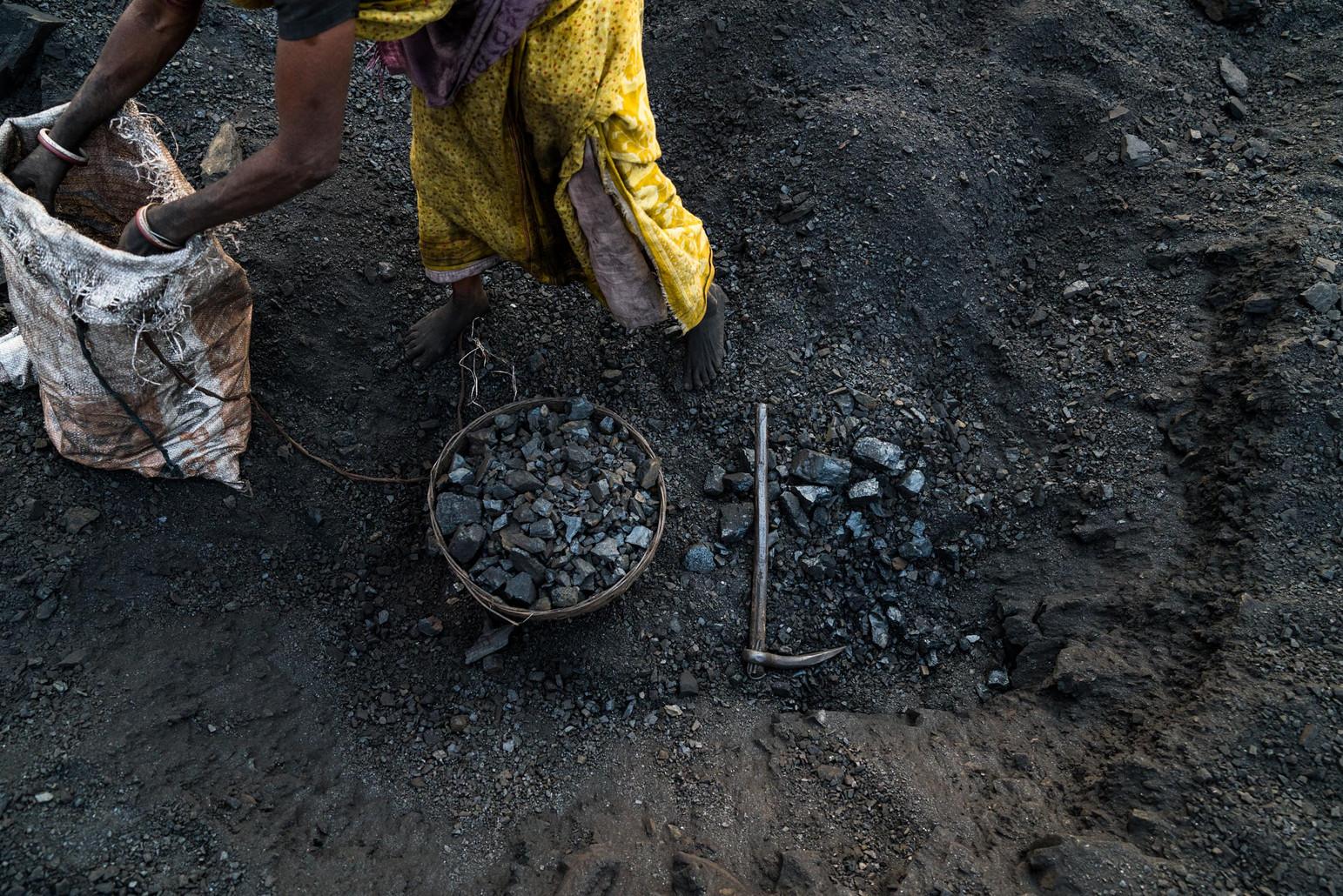 A Coal Miner's Tools