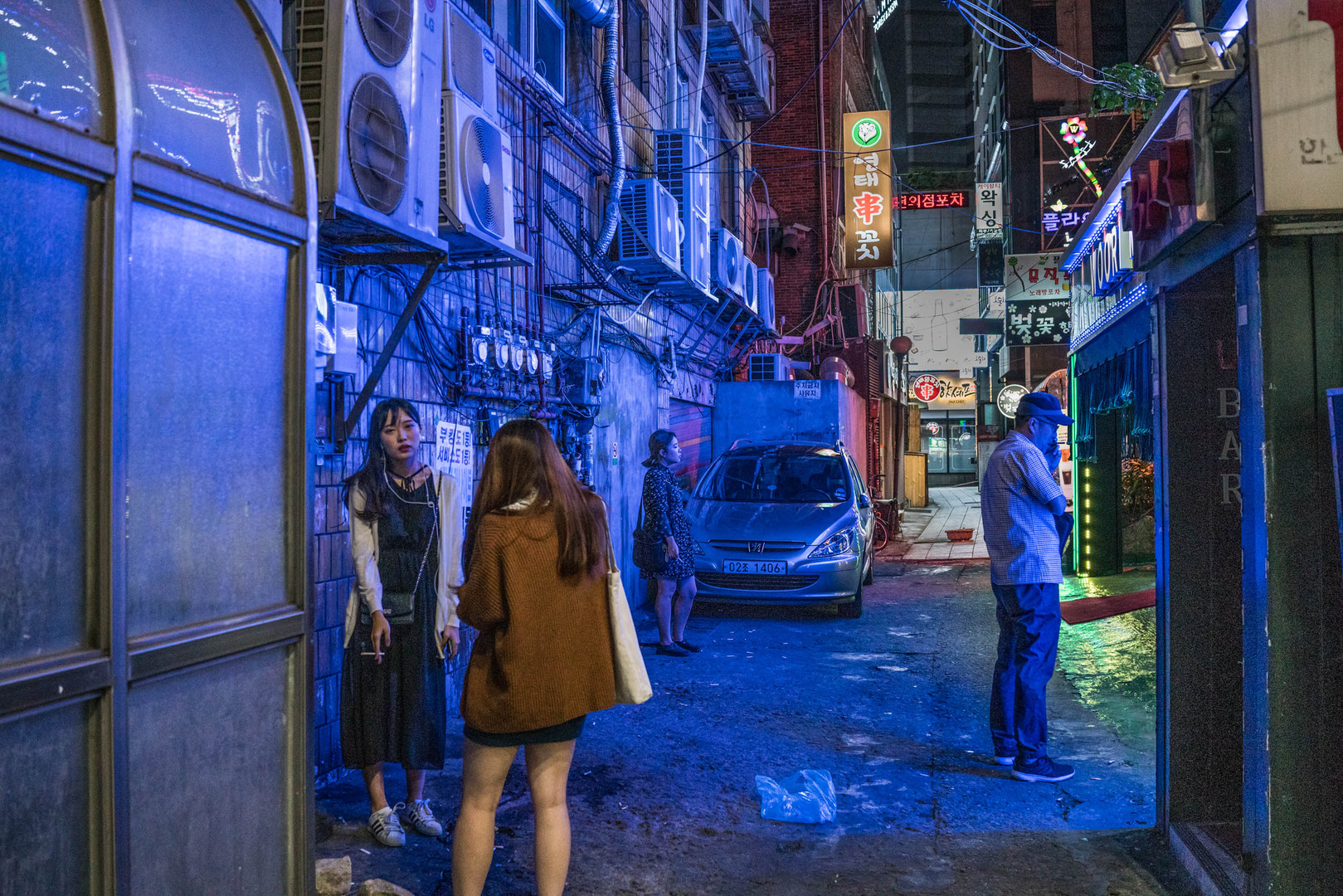 Seoul's Neon Backstreets