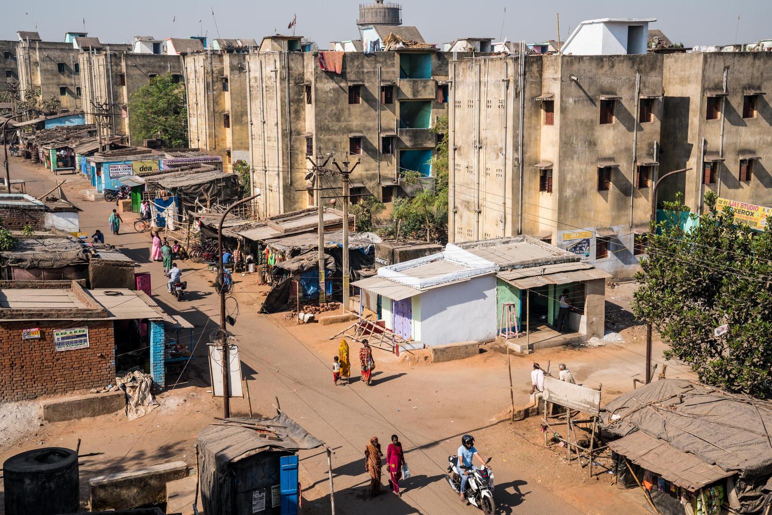 Population Relocation Apartments