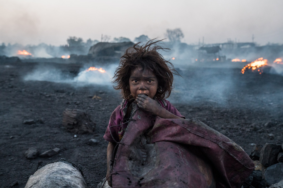 A Child of Jharia