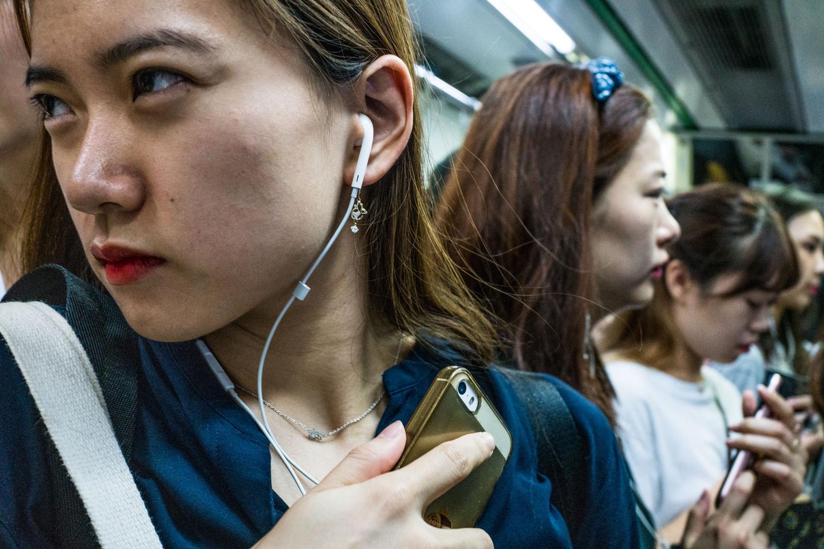 Seoul's Crowded Subways