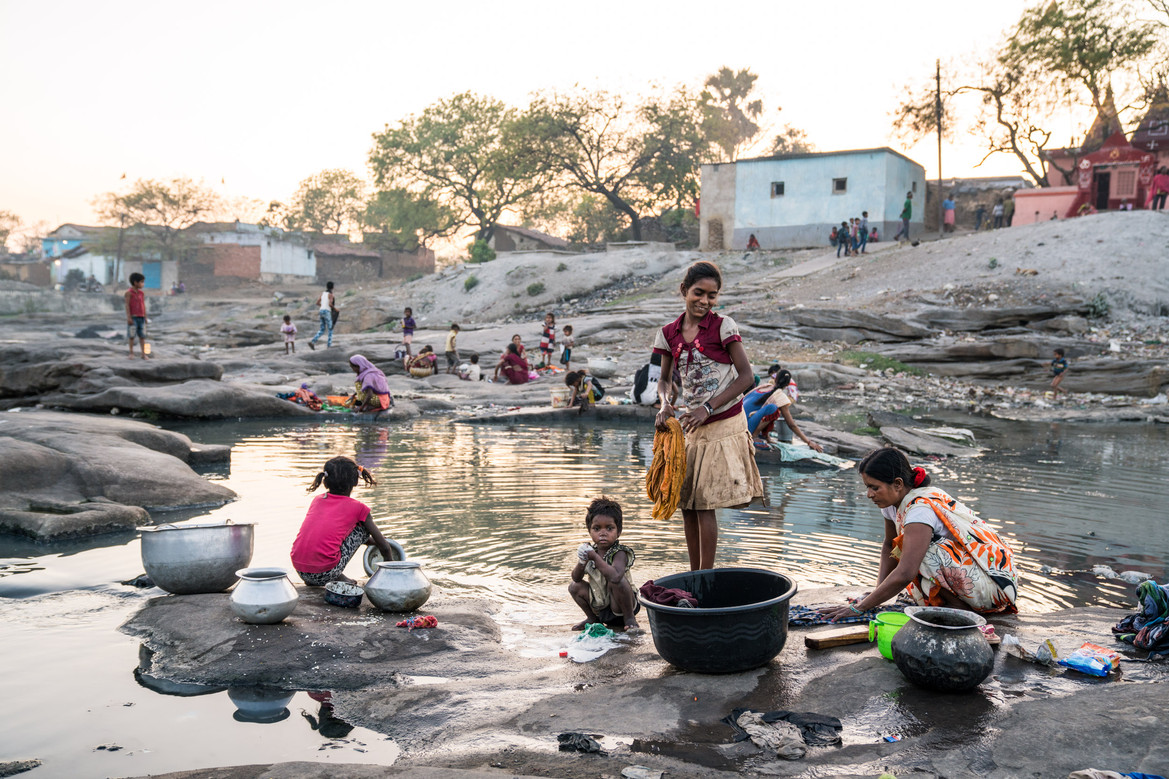An Afternoon in Jharia