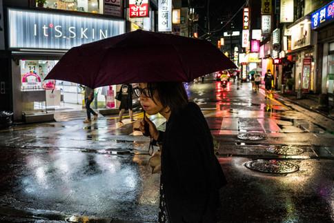 Seoul's Neon Streets