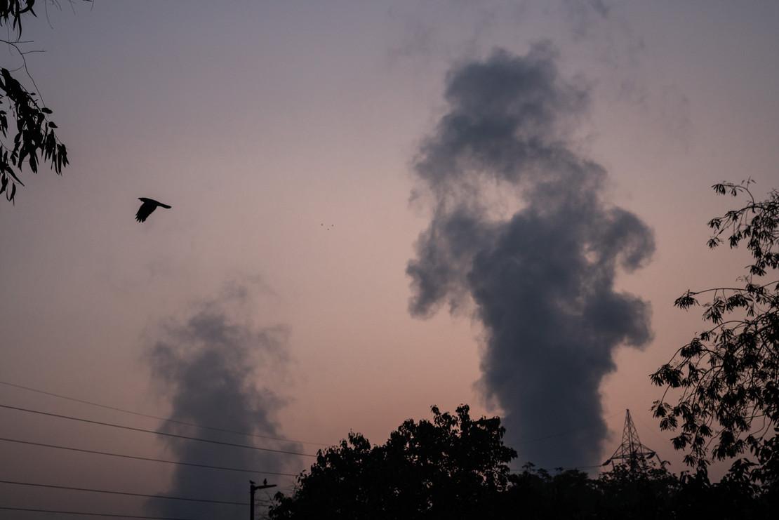 Air Pollutions Plague