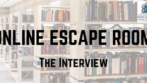The Interview: Online Escape Room for Kingston Libraries