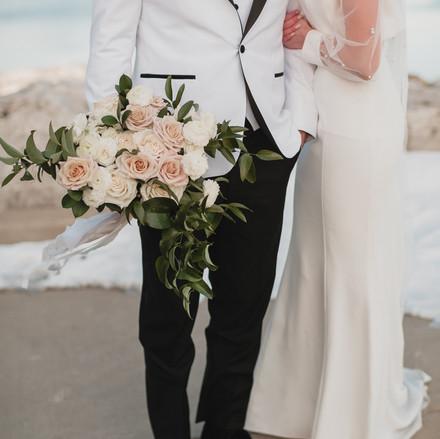 My Custom Bridal Jacket by Love Lives Here