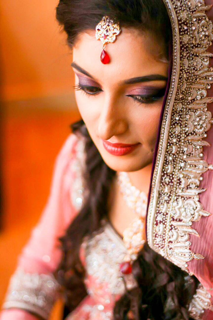 valima bride jewellery setting