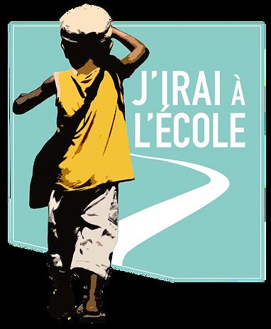 Logo de l'association J'irai à l'école