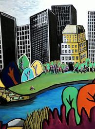 Central Park-1 12x16