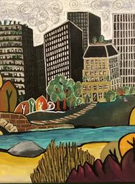 Central Park-6 12x16