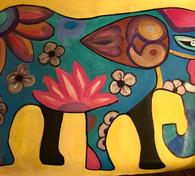 Laura's elephant 20x30