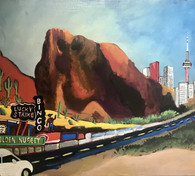 [Sold] Coming home from Vegas 11x14.jpg