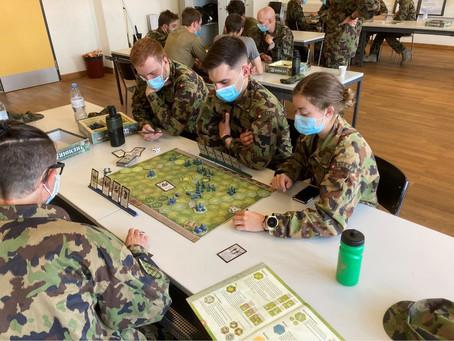 OS Besuch 10-1/21 mit Taktik Ausbildung