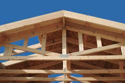 framed roof