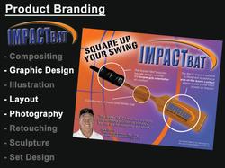 Product Branding - Impact Bat