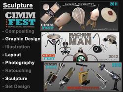 Sculptures: CIMMfest Awards