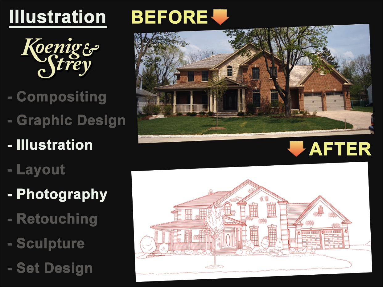 Home Illustrations - Koenig & Stray
