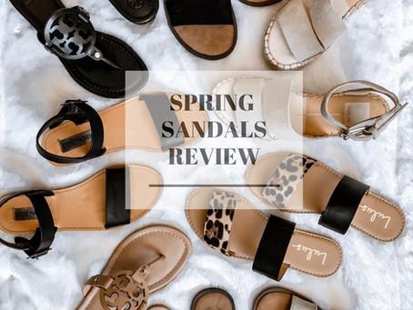 Spring Sandal Review