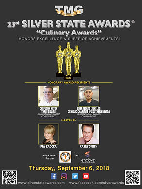 23rd Silver State Awards - 4th Culinary